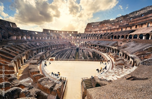Papiers peints Rome Colosseum in Rome