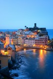 Vernazza at night in Cinque Terre