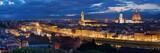 Florence skyline night panorama - 190244123
