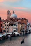 Venice grand canal gondola - 190244365