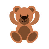 Teddy fluffy bear - 190244709