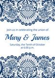 Wedding invitation template - 190252101