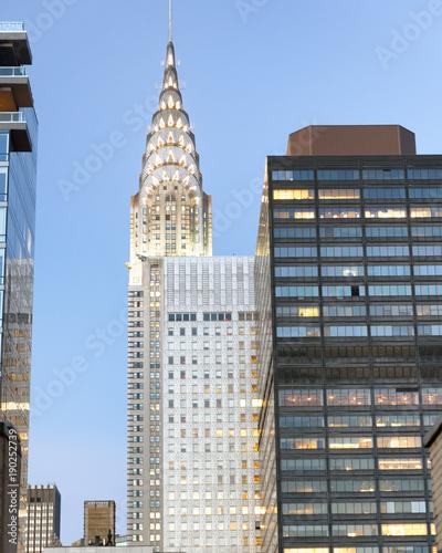 New York Manhattan skyline and buildings