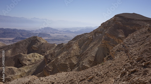 Keuken foto achterwand Cappuccino Arava Valley. Israel. Timna Park. Desert. Dolina Arava