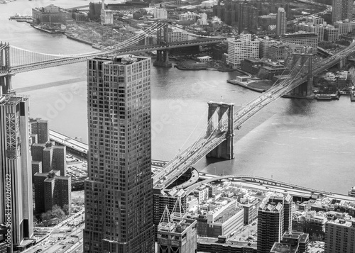 Foto op Canvas New York Manhattan from the sky