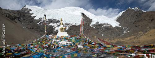 Deurstickers Natuur Tibetan mountain