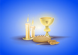 Religious objects of my first communion - 190276580