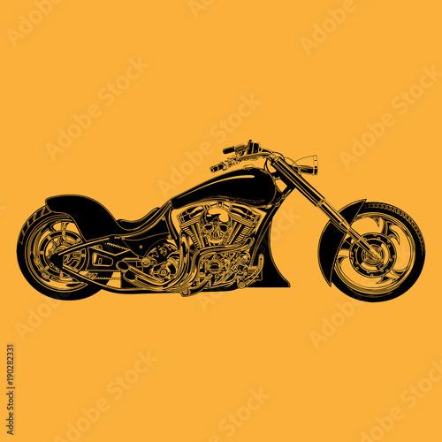 custom-chopper-motorrad