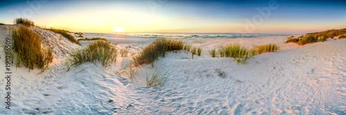 fototapeta na ścianę Coast dunes beach sea, panorama