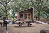 Wooden cabins for camping - 190295332