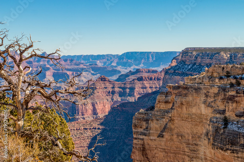 Fotobehang Arizona South Rim Grand Canyon Landscape