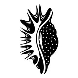 Exotic shell icon, simple style - 190304542