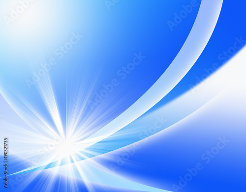 Fotobehang Abstractie 抽象 アブストラクト 曲線 図形