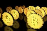 3d golden bitcoin - 190340912