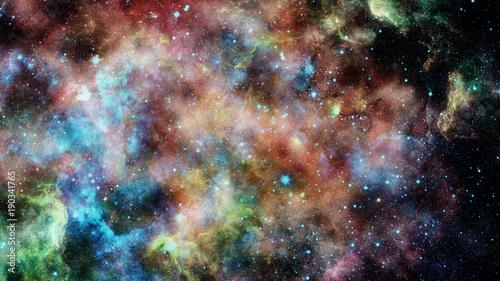 galaxy-i-mglawica-elementy-tego-obrazu-dostarczone-przez-nasa
