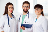 Group of doctors in the clinic - 190343597