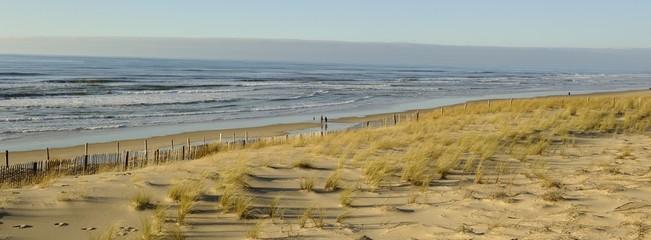 Lacanau, dune et océan © Guy Pracros