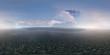Panorama 360° con montagne e oceano - 190349501