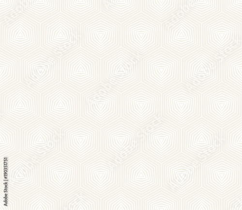Tuinposter Stof Vector seamless pattern. Modern stylish abstract texture. Repeating geometric tiles