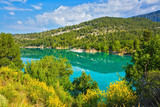 The canyon in the French Alps - Verdon
