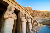 January 2018 - Luxor, Egypt. The great temple of Hatshepsut, Karnak, Luxor, Egypt