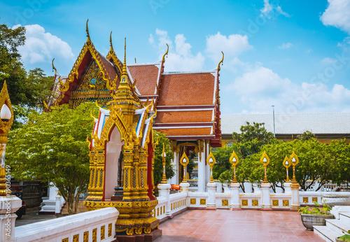 Foto op Aluminium Bangkok Bangkok Wat Bopitpimuk Worawihan, Thailand