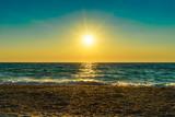 Sunset on the sea - 190376370