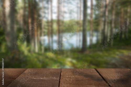 Keuken foto achterwand Natuur Nature blurred background