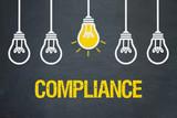 Compliance / Tafel mit Glühbirnen - 190411528