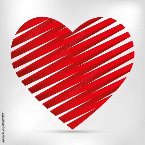 San Valentino Sondo Con Cuore A Righe Buy Photos Ap Images