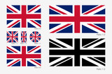 Union Jack. Flag of United Kingdom of Great Britain - 190426521