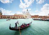 Grand Canal and Basilica Santa Maria della Salute, Venice, Italy - 190438311
