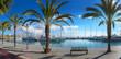 Quadro Yachthafen in Palma de Mallorca