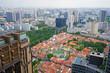 Panoramic view of the modern Singapore skyline - 190441101