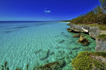 Lagon turquoise, Ouvéa, Nouvelle-Calédonie © Cyril