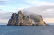 Coastal Clouds on a Barren Island