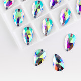 Precious stones crystal color in the pallet on a white background. - 190482307