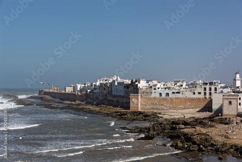 Deurstickers Marokko Essaouira Weltkulturerbe