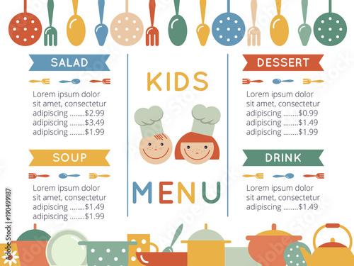 Kids menu template buy photos ap images detailview kids menu template maxwellsz