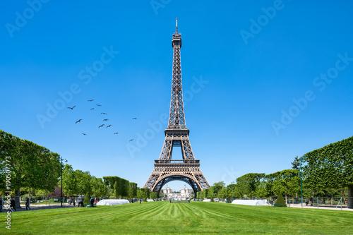Tuinposter Eiffeltoren Eiffelturm in Paris, Frankreich