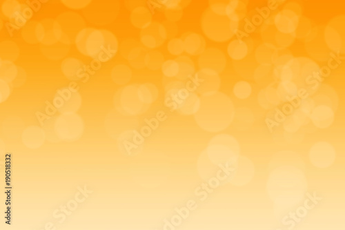 Abstract blurred ochre yellow tone lights background