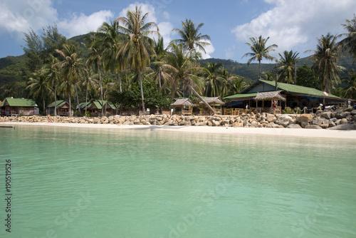 Fotobehang Olijf Chaloklum beach, Koh Phangan, Thailand