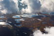 Clouds above the swamp, top view - 190520508