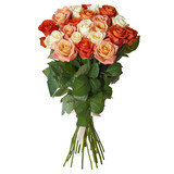 Bouquet of colorful flowers in a beautiful package - 190524981