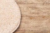 tortilla  on wooden table - 190529115