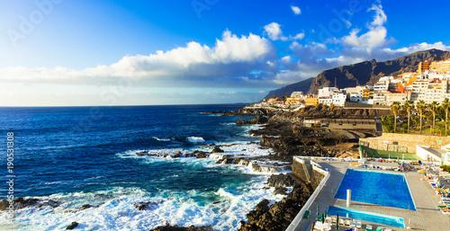 Fotobehang Freesurf Relaxing holidays in beautiful Tenerife. Canary islands