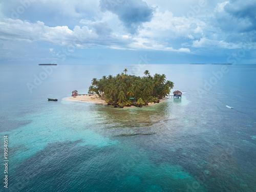 Small private island