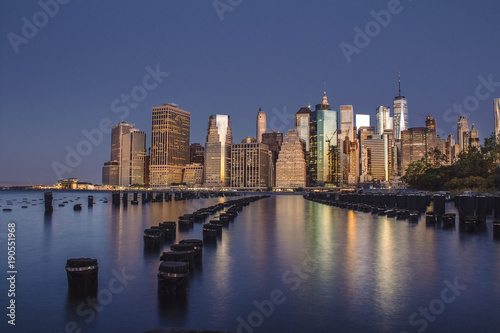 Foto op Aluminium New York Skyline New York