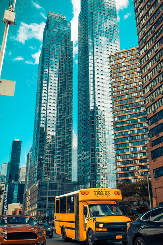 bus scolaire New York
