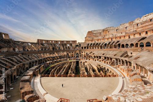 Interior of Colosseum